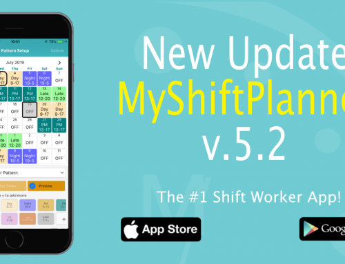 New Update Version 5.2 of My Shift Planner