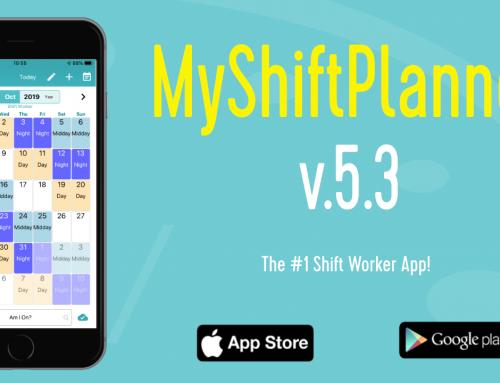 MyShiftPlanner v.5.3 –  What's new?