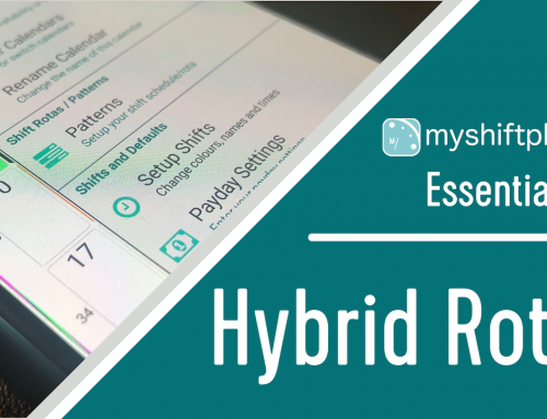 "Setting up a ""Hybrid Work Rota"" in MyShiftPlanner"